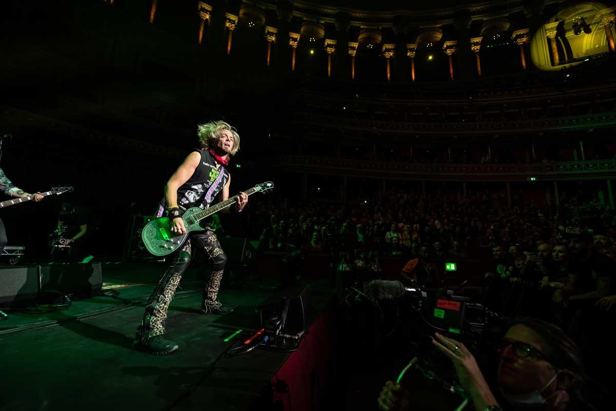 Black Stone Cherry at the Royal Albert Hall 29 September 2021