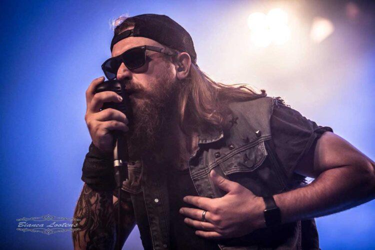 Bootyard Bandits vocalist Joel Peters