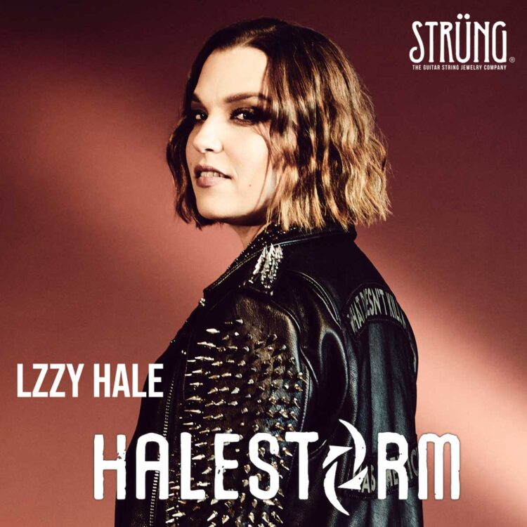 Lzzy Hale from Halestorm