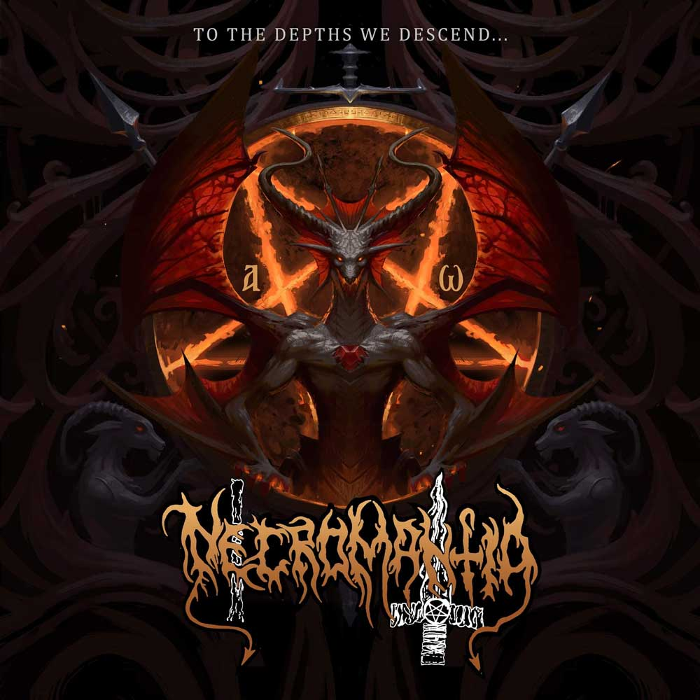 Cover of To The Depths We Descend  from Necromantia