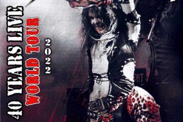 W.A.S.P 2022 tour poster